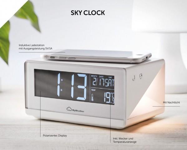 Wecker, Ladestation und Wetteranzeige: Sky Clock