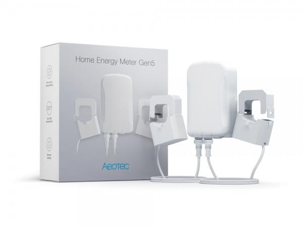 AEOTEC Smart Home Energy Meter mit drei Zange GEN5