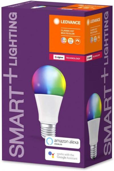 LEDVANCE Smart+ LED Birne Classic Multicolour 60 10W E27 (ZigBee)